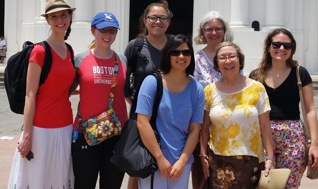 Pictured L to R: Front row: Beleny Reese, Carol Piñeiro Back row: Chelsea Jensen, Sam Clark, Paige Pajarillo, Kea van der Ziel & Natasha Vivieros